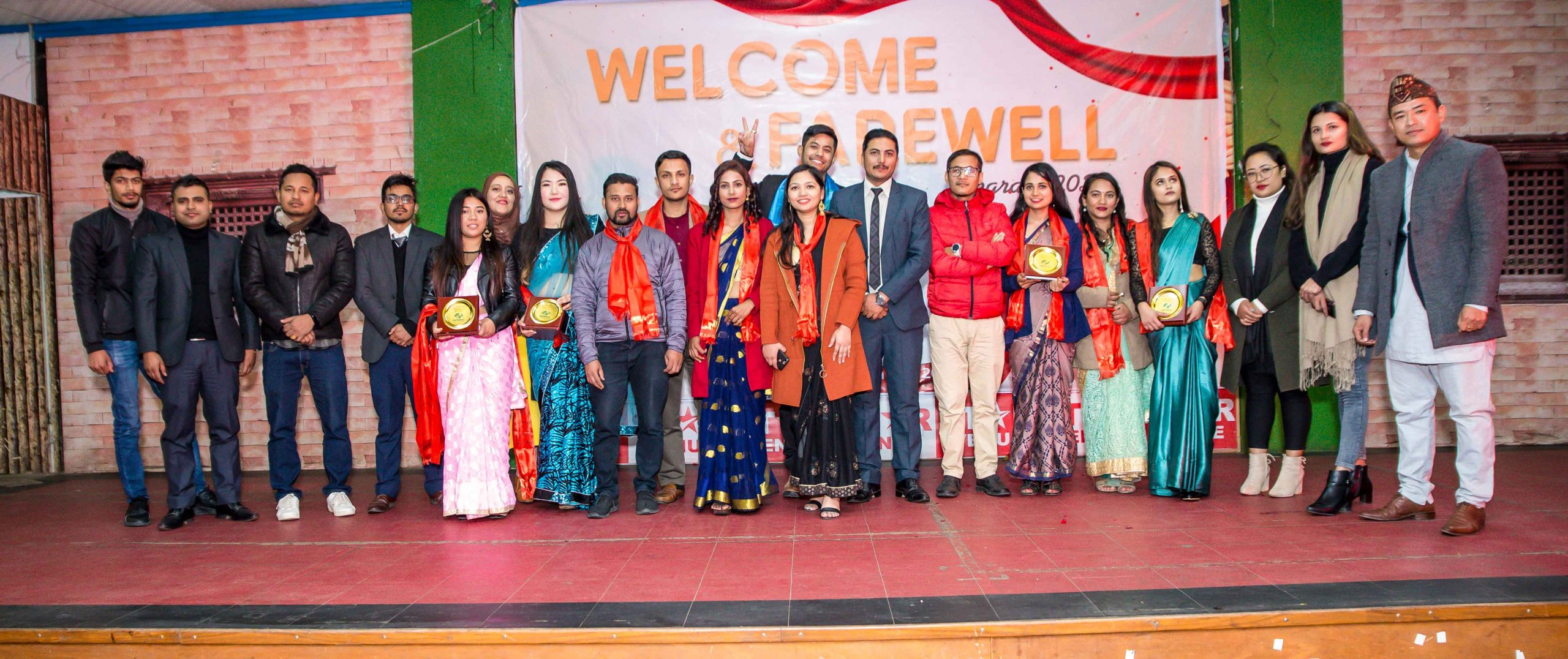 Welcome & Farewell Programme Imperial 2020